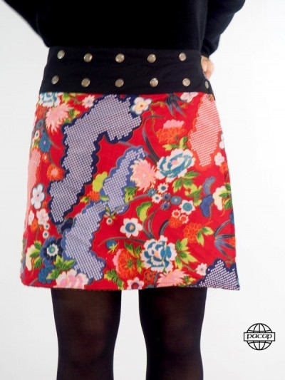 Skirt Rouille/Black M...
