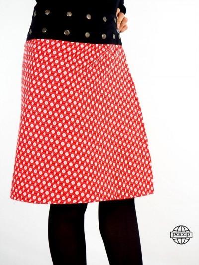 Skirt Maxi Rouge Poppy...