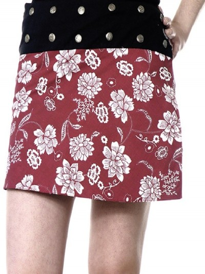 Skirt Red Flower Cup...
