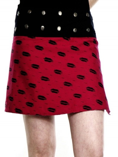 """Mini Skirt"" Striped..."
