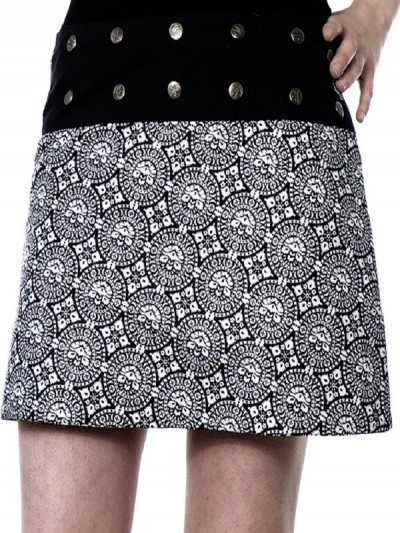 """Mini Skirt"" Black and..."