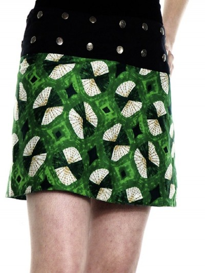 Green Reversible Skirt...