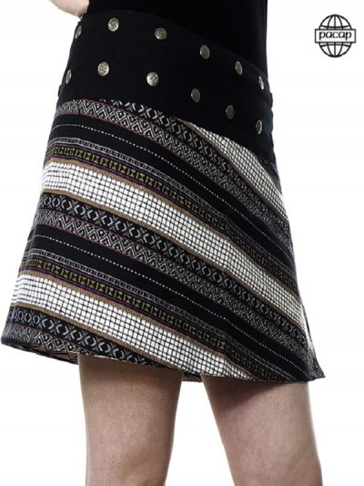 Trapeze skirt and...