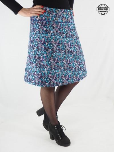 Skirt Longue Skate Velvet...