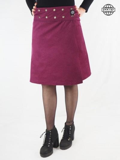 Long Skirt Rose Reversible...
