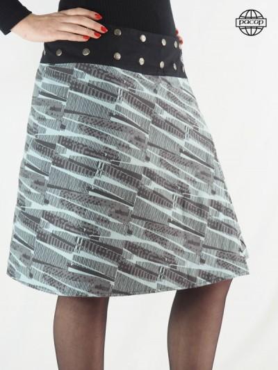 Skirt Woman Longue Verte...