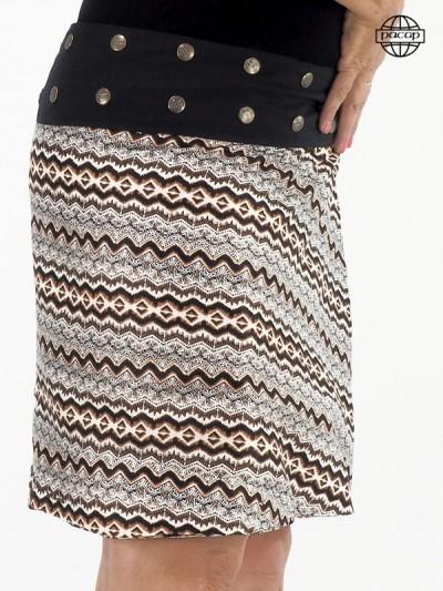 jupe tribal mi longue pour femme