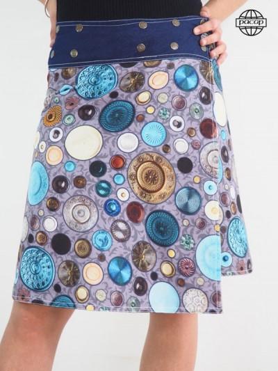 Edition Limited, Skirt Digital Printing Reason Rustic Original