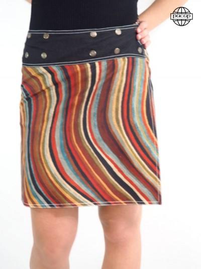 Edition Limited, Skirt Print Digitale Reason Multi-coloured Radius
