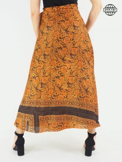 Long skirt, silk skirt, skirt summer, skirt to be formed