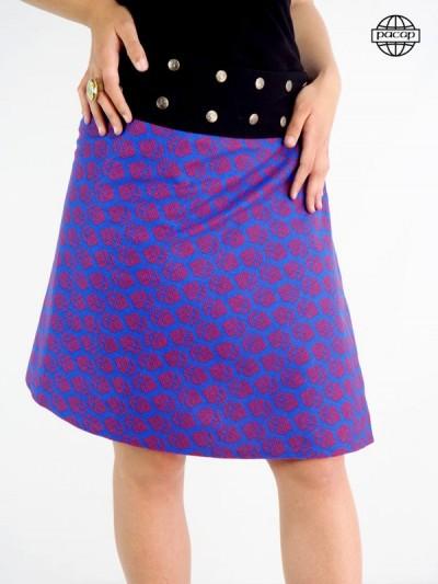 jupe longue bleue
