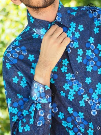 Shirt Coton Manches Longues Reason Floral