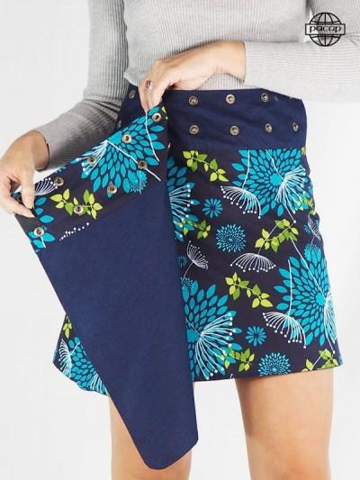 Jupe Grande Taille en jean avec poches