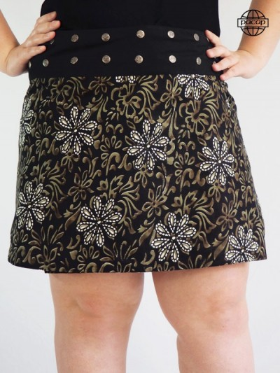 jupe noire grande taille