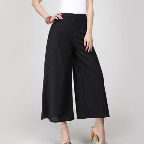 Pantalon large femme, pantalon jupe et palazzo